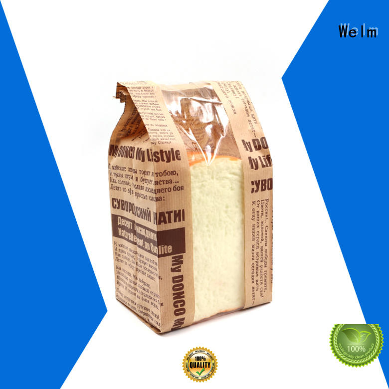 Welm packing brown paper grocery bags for business for sale