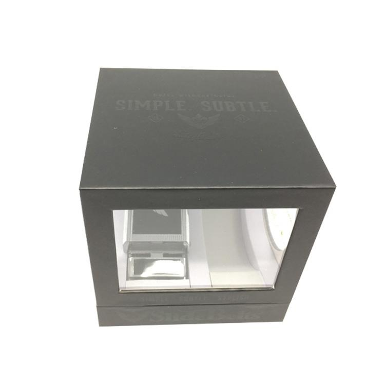 handmade box packaging closure with ribbon for lip stick-3