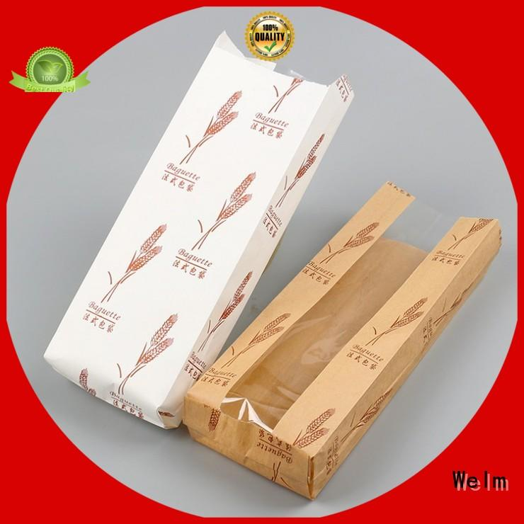 customized discount paper bags with handles cut with gold logo print for sale