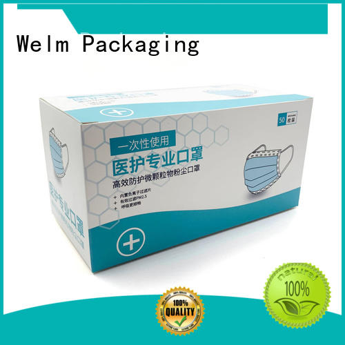 Welm new medical packaging design factory for blood glucose test strips