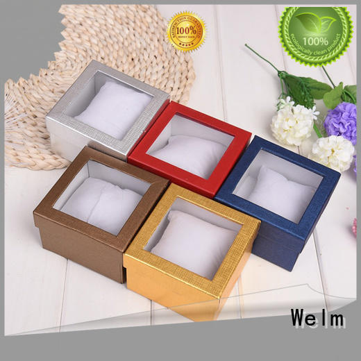 Welm printing bangle gift box pillow for toy