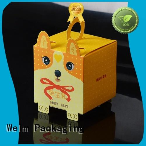 Welm high-quality cookie gift boxes packaging supplier for sale