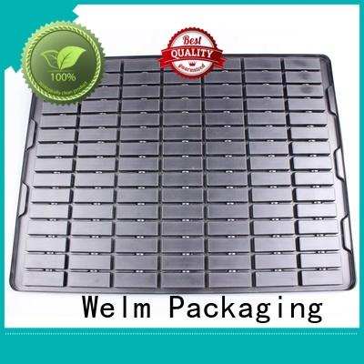 white blister pack packaging supermarket fruit display for cosmetics and toy