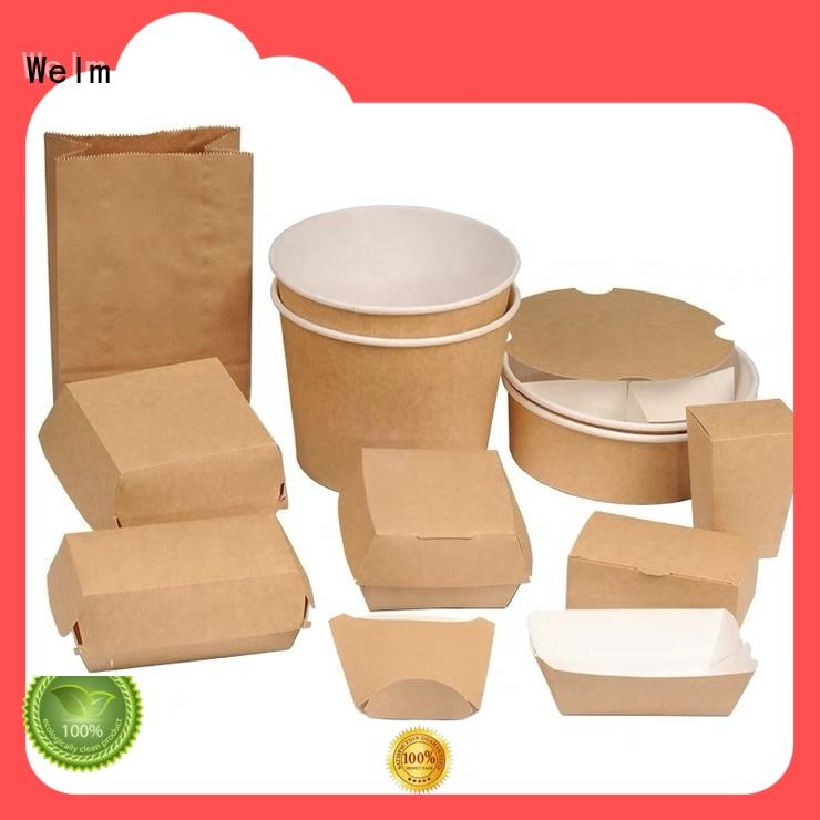 Welm standard custom printed cardboard boxes with pvc window for medicine