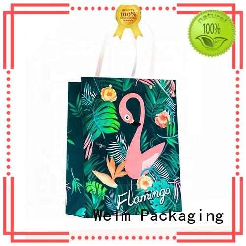 Welm premium bulk kraft paper bags manufacturers for shopping