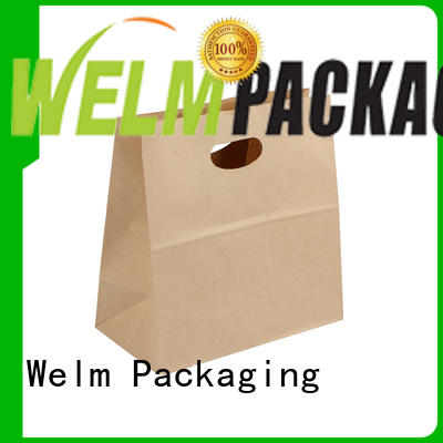 Welm handle where to purchase paper bags with gold logo print for sale