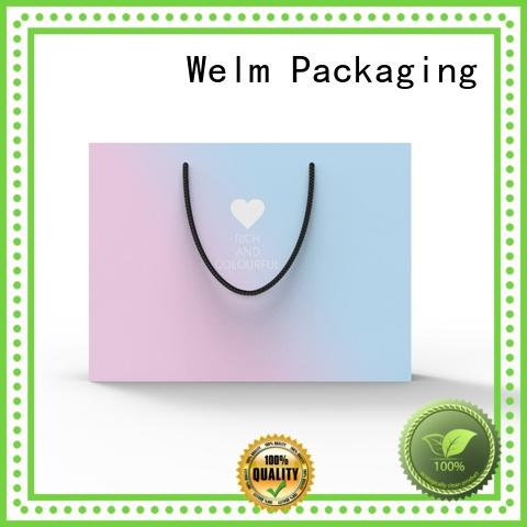 Welm pp brown paper lunch sacks for gift shopping