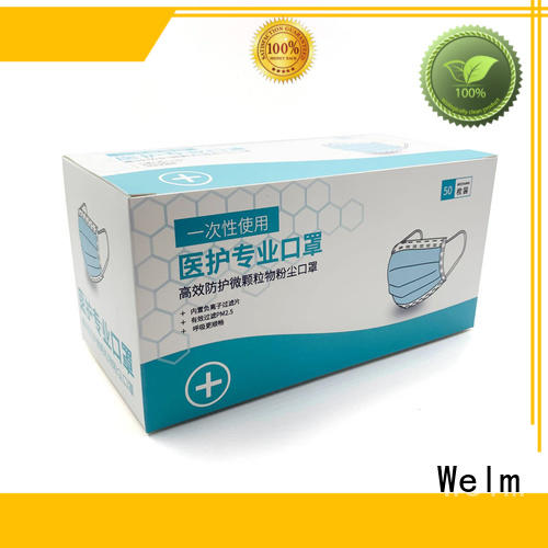 Welm compression Drug packaging box factory for facial cosmetic