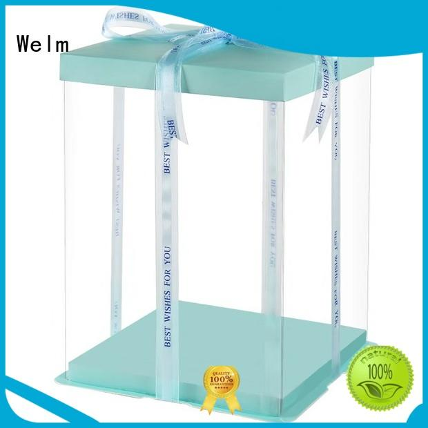 Welm donut food serving boxes suppliers for sale