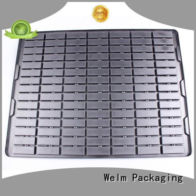 Welm plastic blister pack packaging candle mold for cosmetics and toy