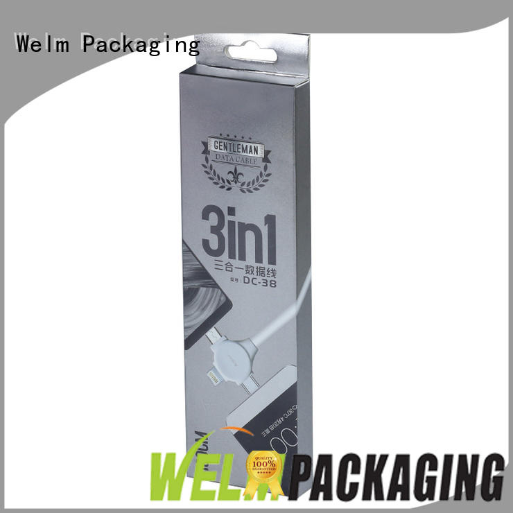 Welm waterproof electronics packaging design with pvc window for sale