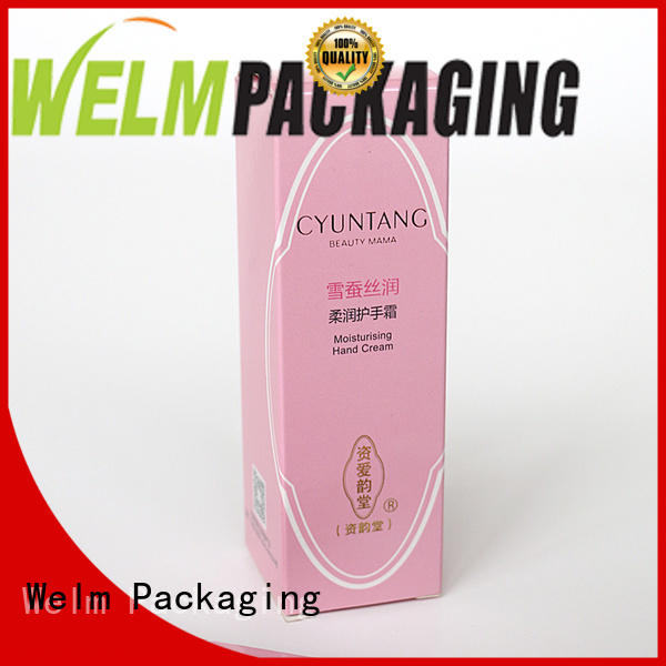 Welm standard Drug packaging box supplier for blood glucose test strips