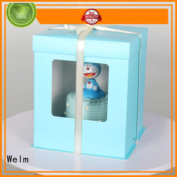 Welm materials cafe packaging supplier for gift