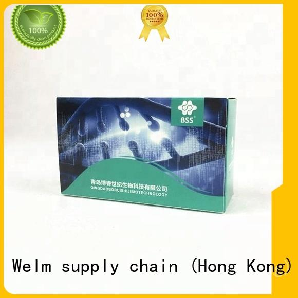 Welm Drug packaging box manufacturer for blood glucose test strips