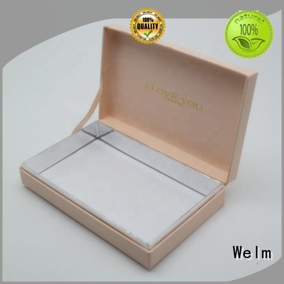 Welm pack custom packaging with magnetic ribbon for food