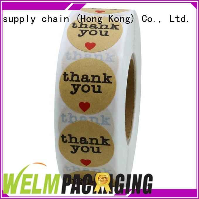 name local sticker printing stciker private label for gifts