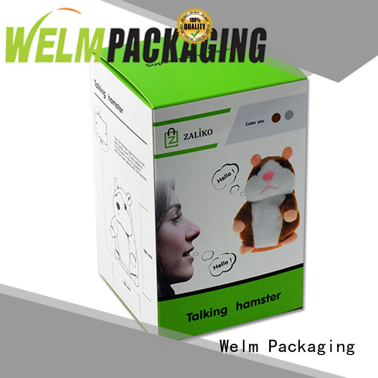 Welm high-quality corrugated carton box for business pen