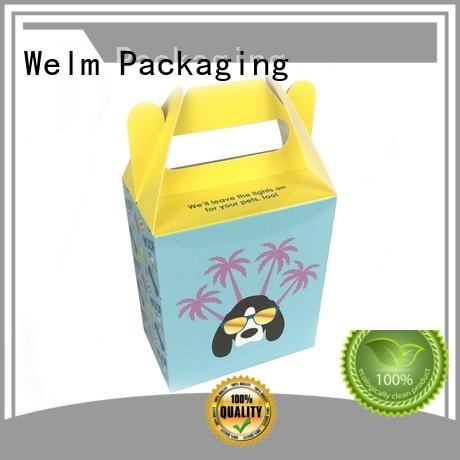 Welm latest food serving boxes supply for pet food