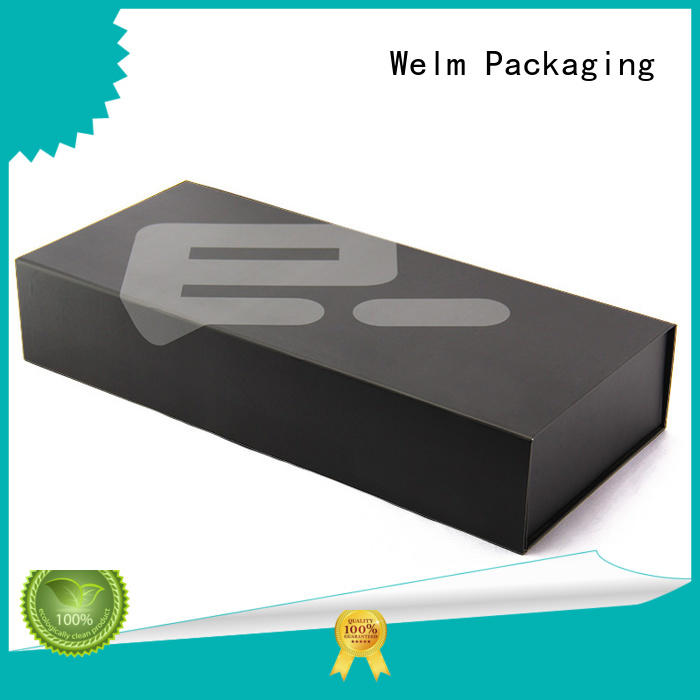 Welm gift boxes wholesale closure for lip stick