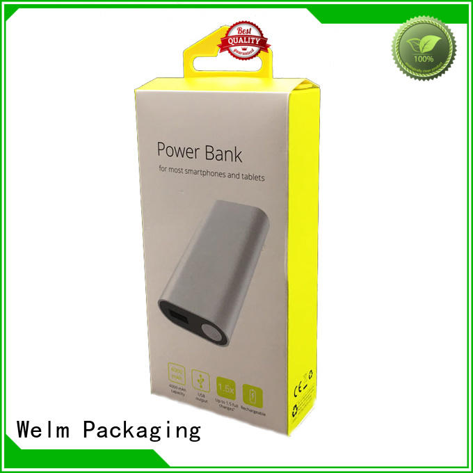 custom electronics packaging companies product with pvc window for sale