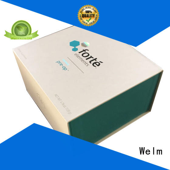 Welm recycle gift boxes wholesale with ribbon for sale
