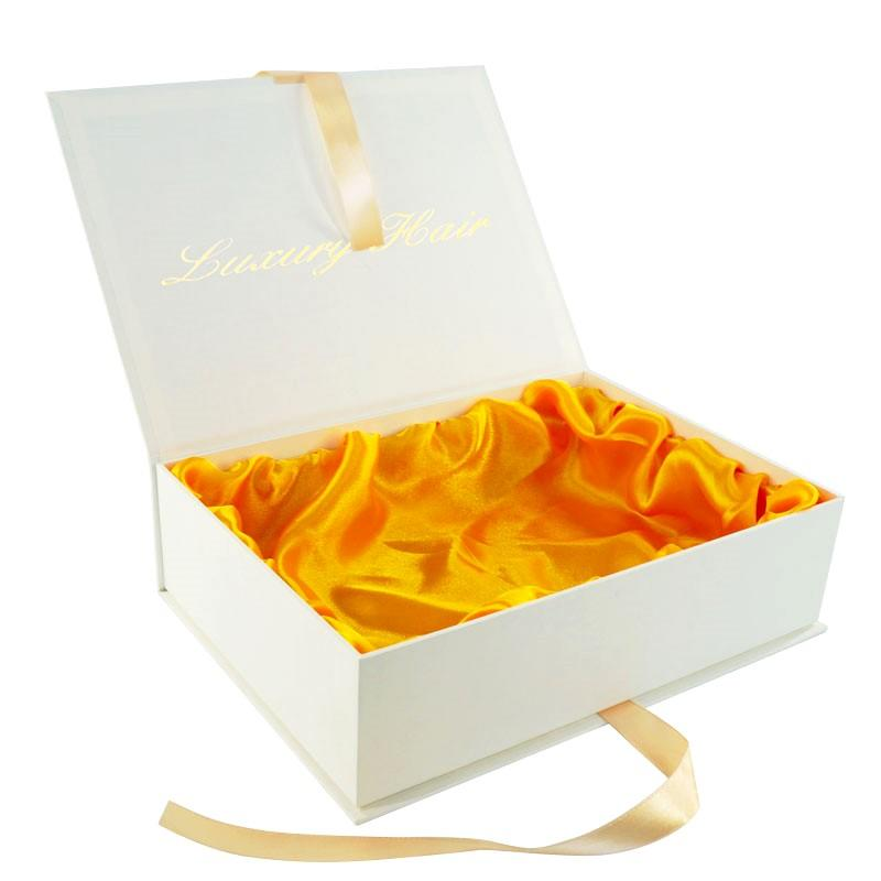 Welm luxury magnetic closure gift box logo for gift-2