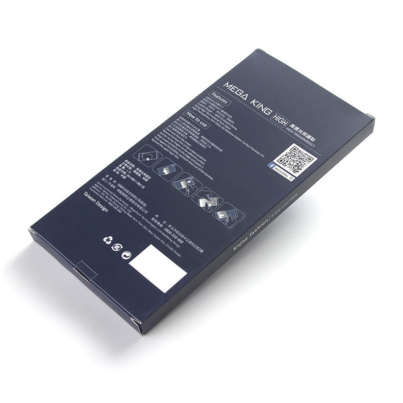 paper Electronics packaging box supplier for men