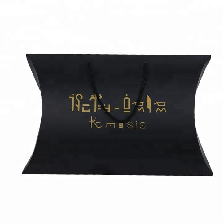 luxury packing gift box color pillow paper box