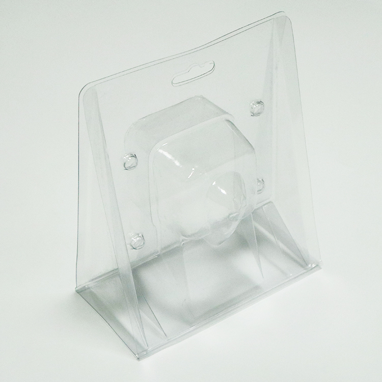 round biodegradable food packaging blister tray liner for cosmetics and toy-1