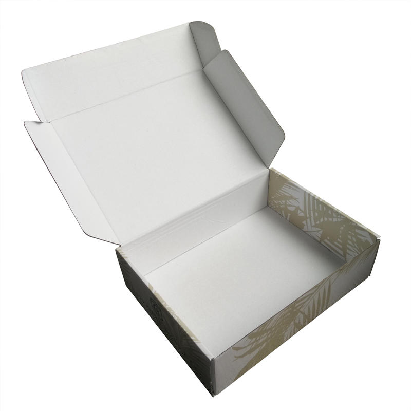luxury UV printing corrugated malier box for