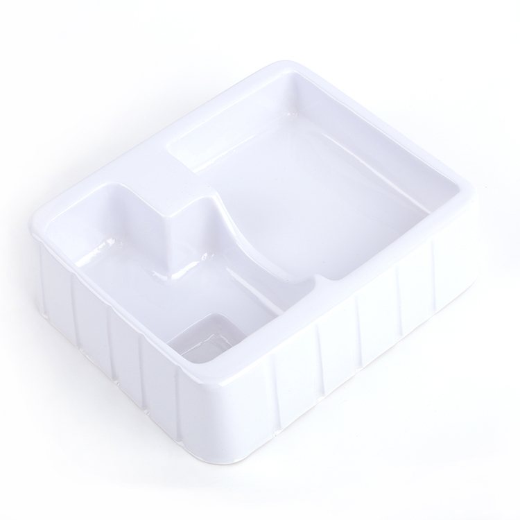 High Quality custom plastic white vacuumed blister packaging for cosmetics and toy-5