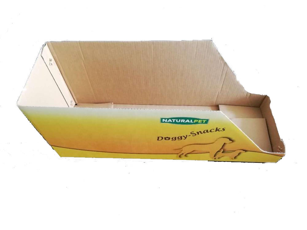 Packing carton for pet food