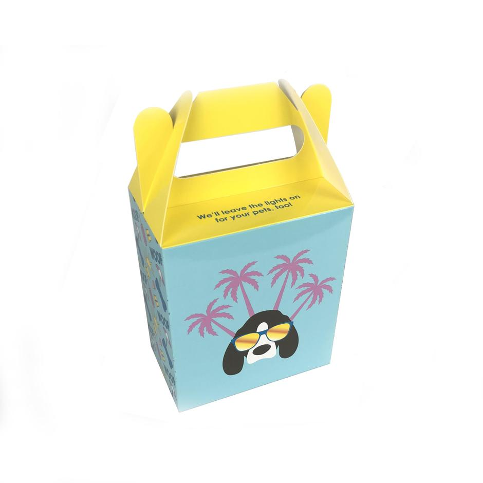 Custom Logo Printing  Colorful Food  Packaging Gift Paper Box