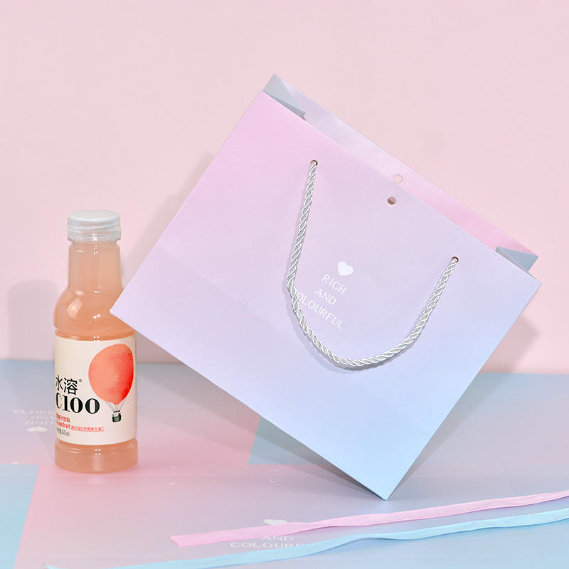 Printed Shopping Paper Bag With Your Own Logo