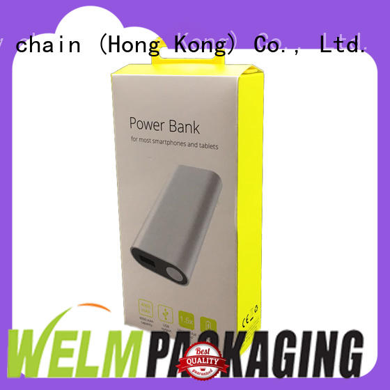 Welm hot sale electronic product packaging design manufacturer for power bank