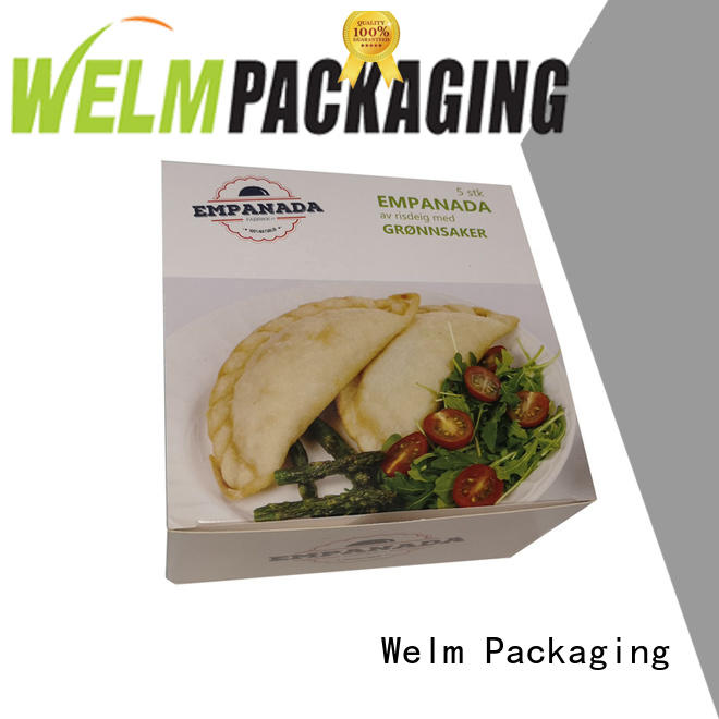color printing ivory board frozen food packaging box