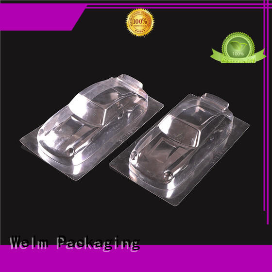 Welm round blister box packaging superior quality for mouse packaging