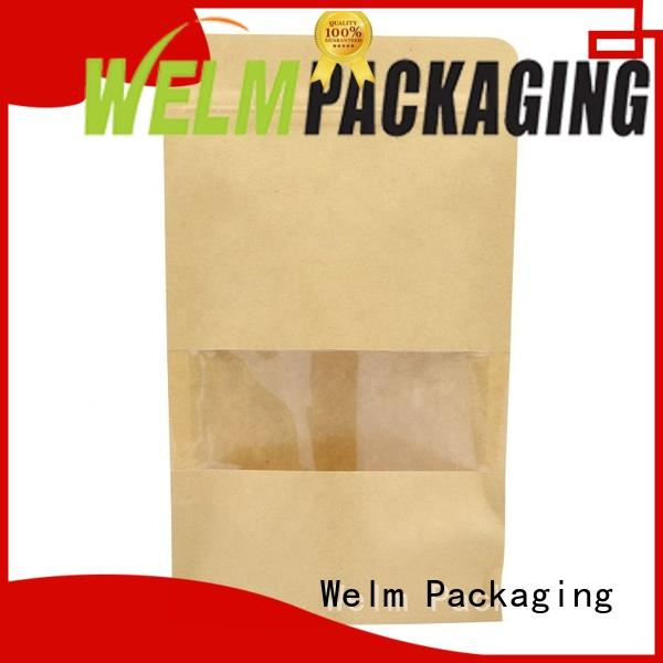 pp brown paper bags packing to recycled paper bags handle for sale
