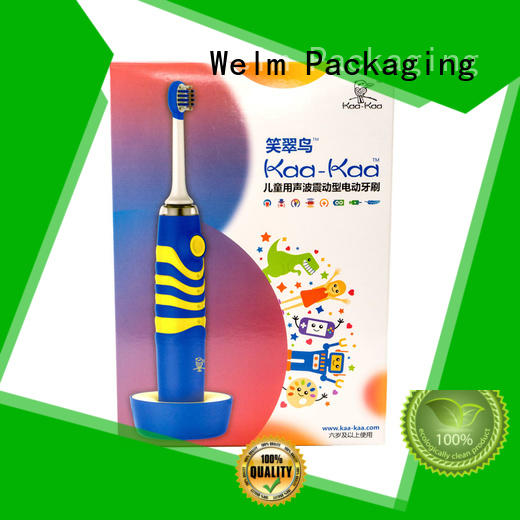 Welm power Electronics packaging box for business for men