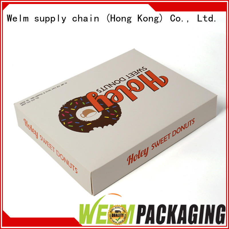 Welm printing gift packaging supplies supplier for food