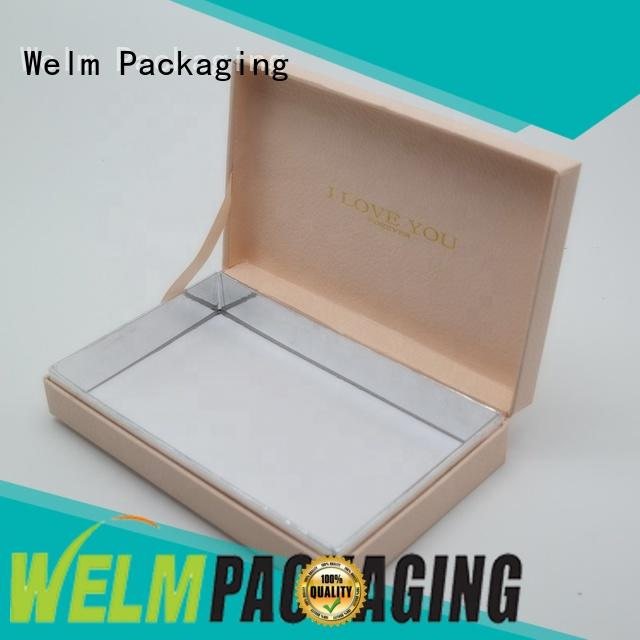 Welm label custom packaging laminated toys