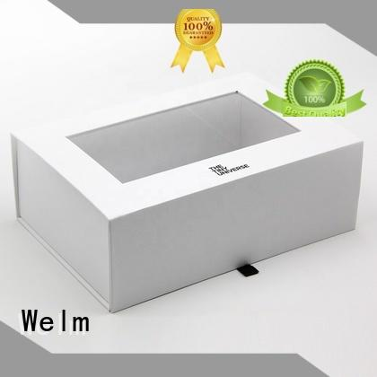 Welm corrugated gift box for food