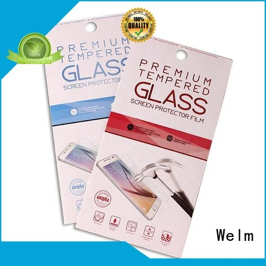 Welm customized cosmetic container suppliers for business for tempered glass packing