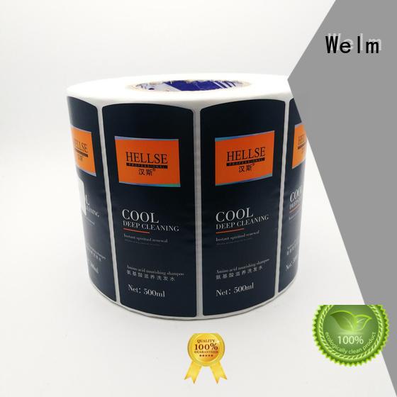 Welm product custom packaging ziplock for food