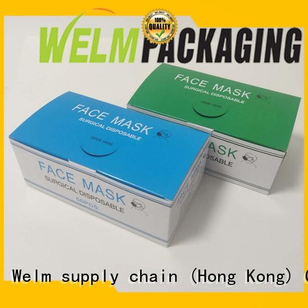 Welm printed electronics packaging box for business for power bank