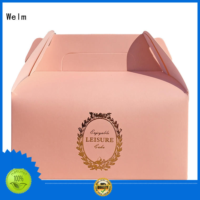 colorful custom dessert donut food paper packaging box