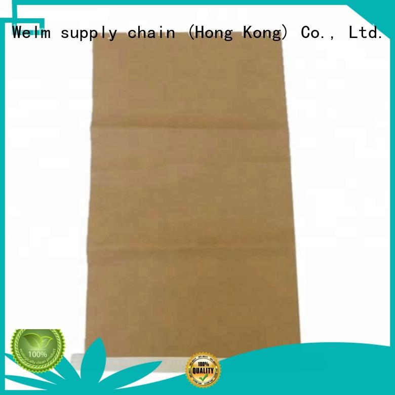 logo customized brown craft paper bag