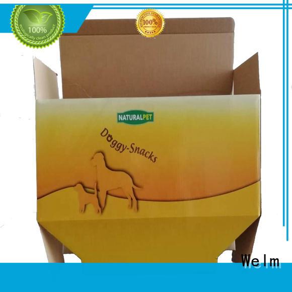 Packing carton for pet food