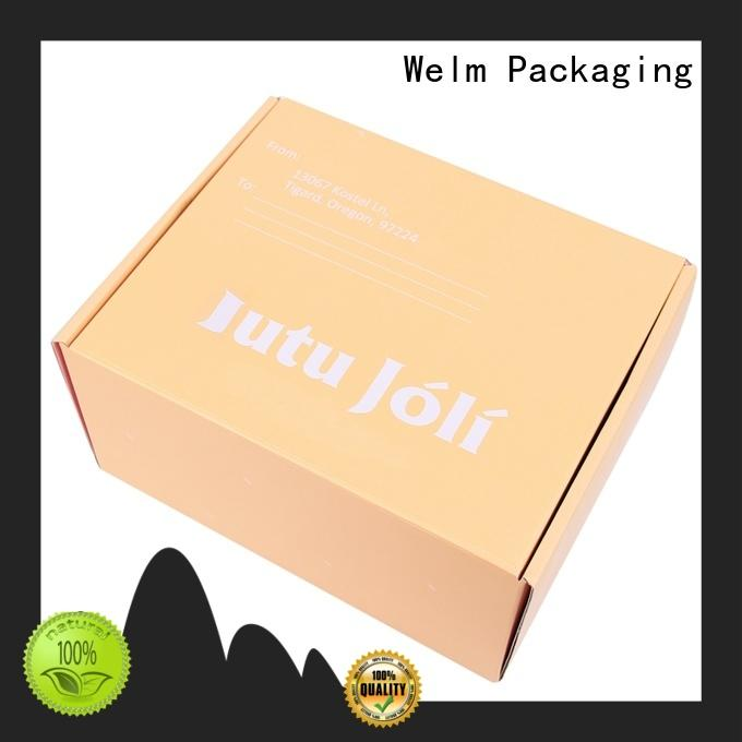 High quality custom shirt box paper full color printing package box for