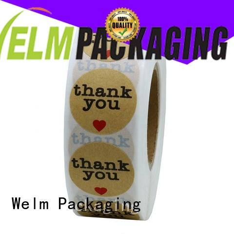 Welm glossy custom packaging customized for food